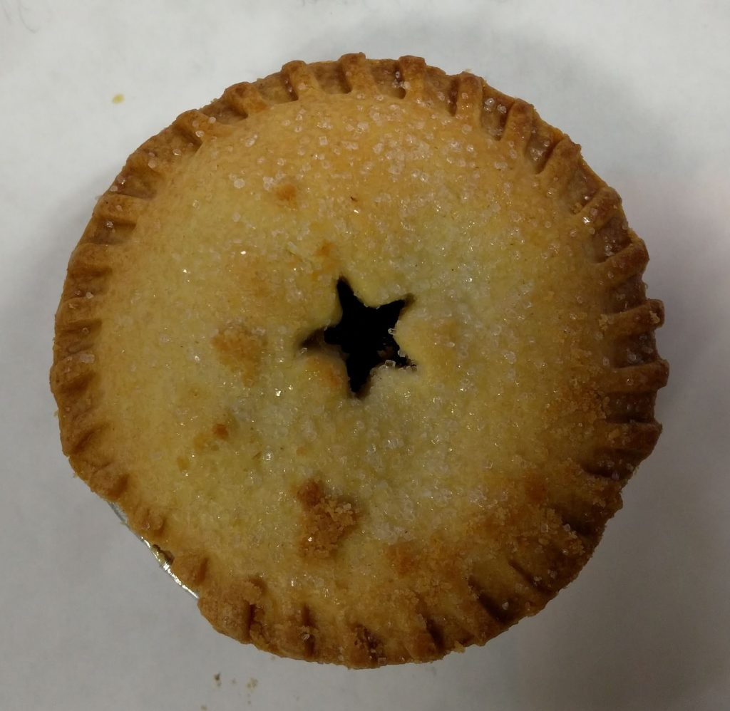 2019 M&S All Butter Mince Pie 1