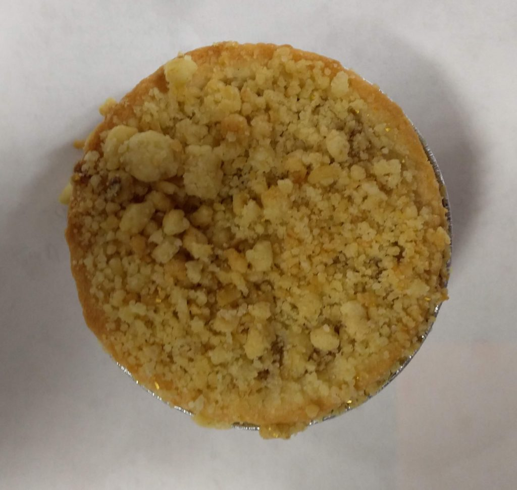 2019 Aldi Specially Selected Salted Caramel Crumble Mince Pie 1