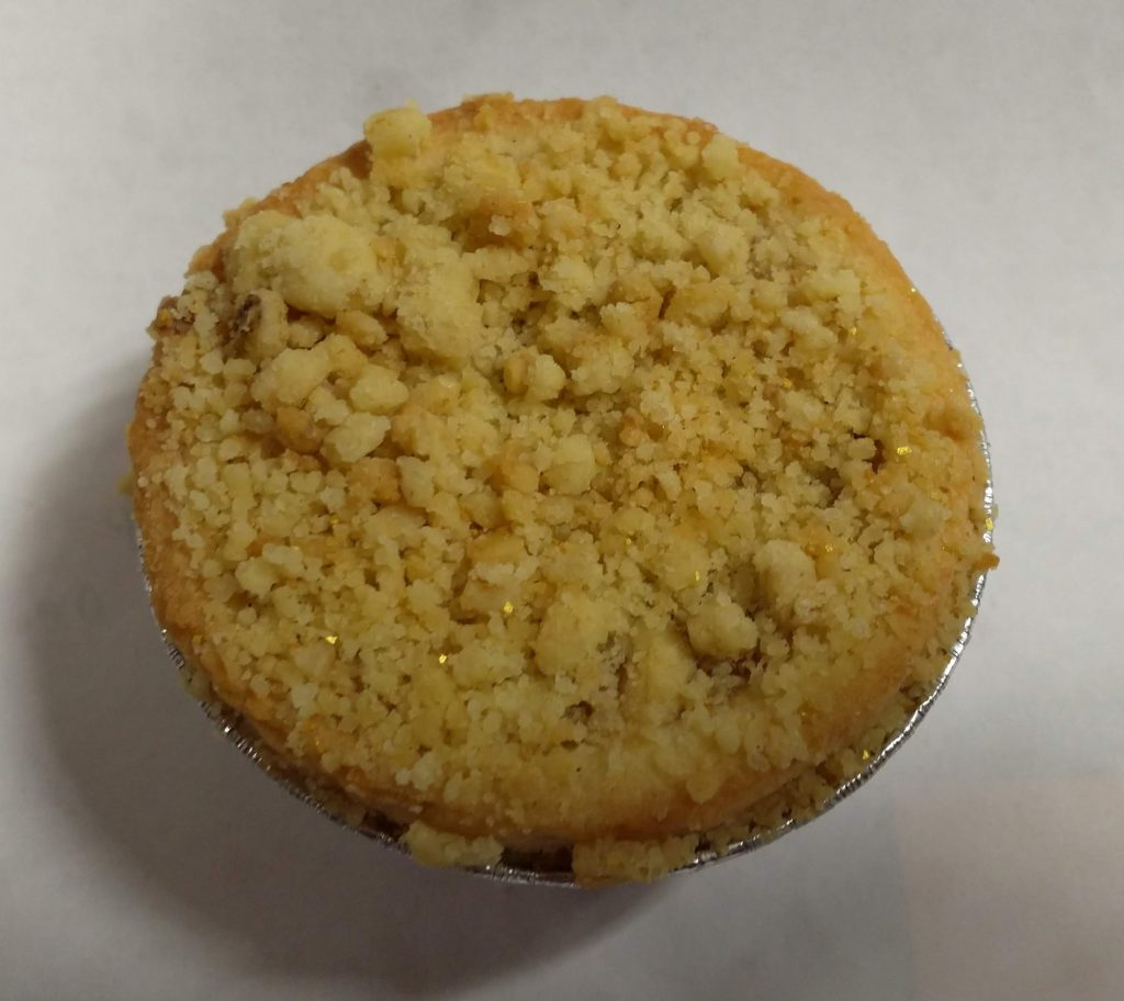 2019 Aldi Specially Selected Salted Caramel Crumble Mince Pie 2