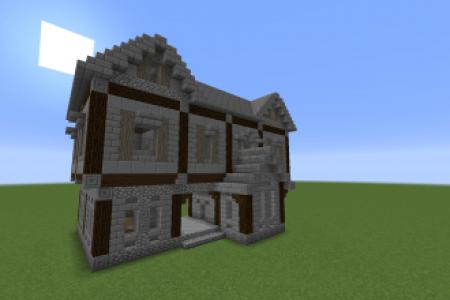 Minecraft Spielen Deutsch Minecraft Mittelalter Haus Klein Bild - Minecraft mittelalter haus klein