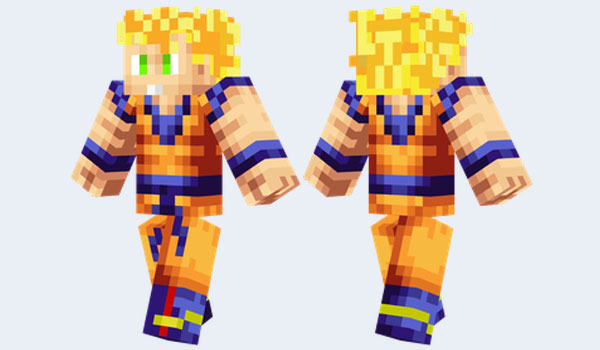 Minecraft Super Skins Dragon Ball