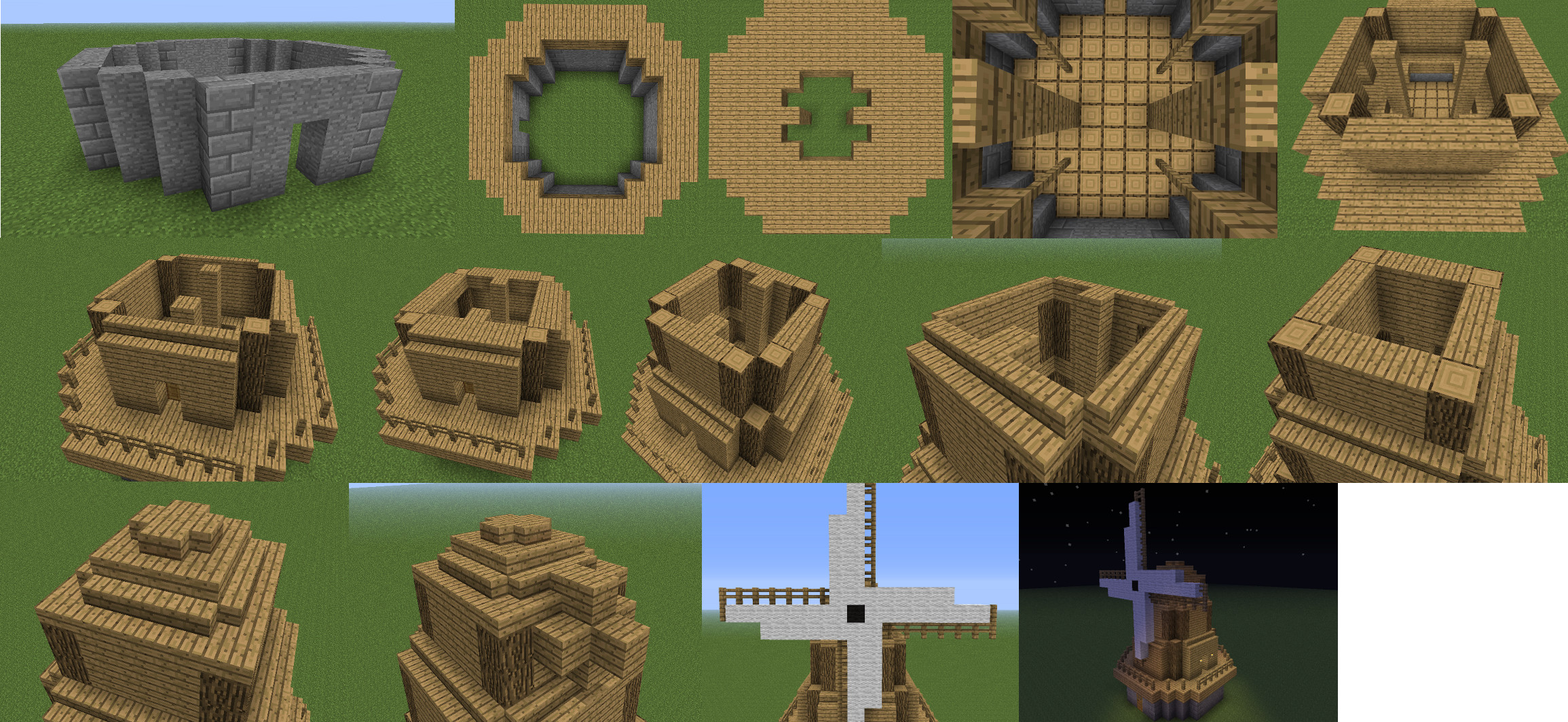 Wooden Minecraft Planks