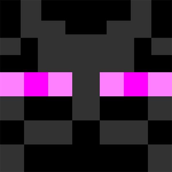 Minecraft Enderman Skin Fire