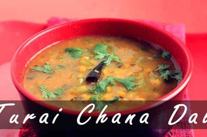 How To Make Chana Dal Recipe (Turai) – Ridge Gourd