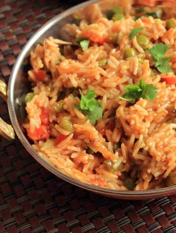 Simple Vegetable Pulao Recipe | Veg. Pulao