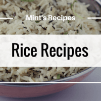 Rice & Pulao Recipes