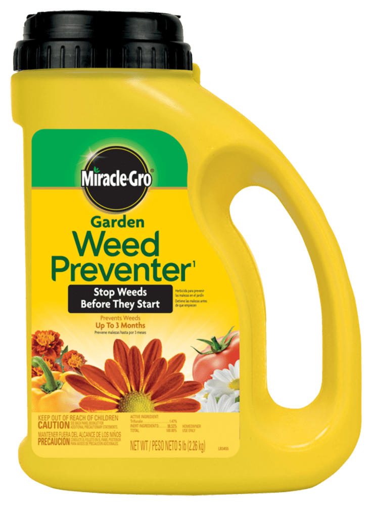 Miracle Gro Garden Weed Preventer 1 Plant Food Miracle Gro