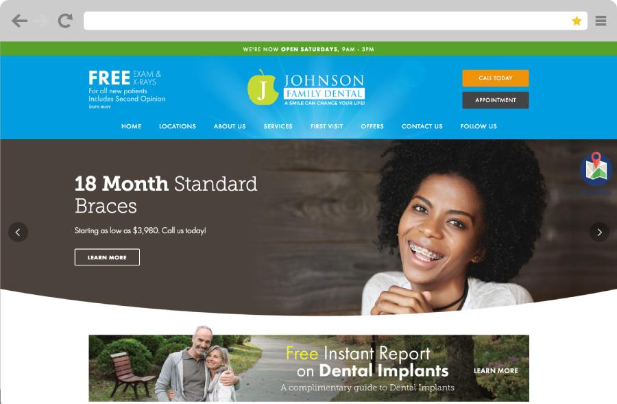 johnson family dental - 900×589