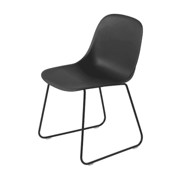 Design Stoelen   Grote collectie   MisterDesign Muuto Fiber Side Chair Stoel  sledebasis