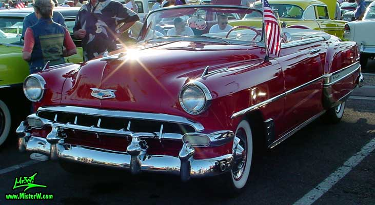 1954 Chevy   1954 Chevrolet Convertible   Classic Car Photo Gallery 1954 Chevy