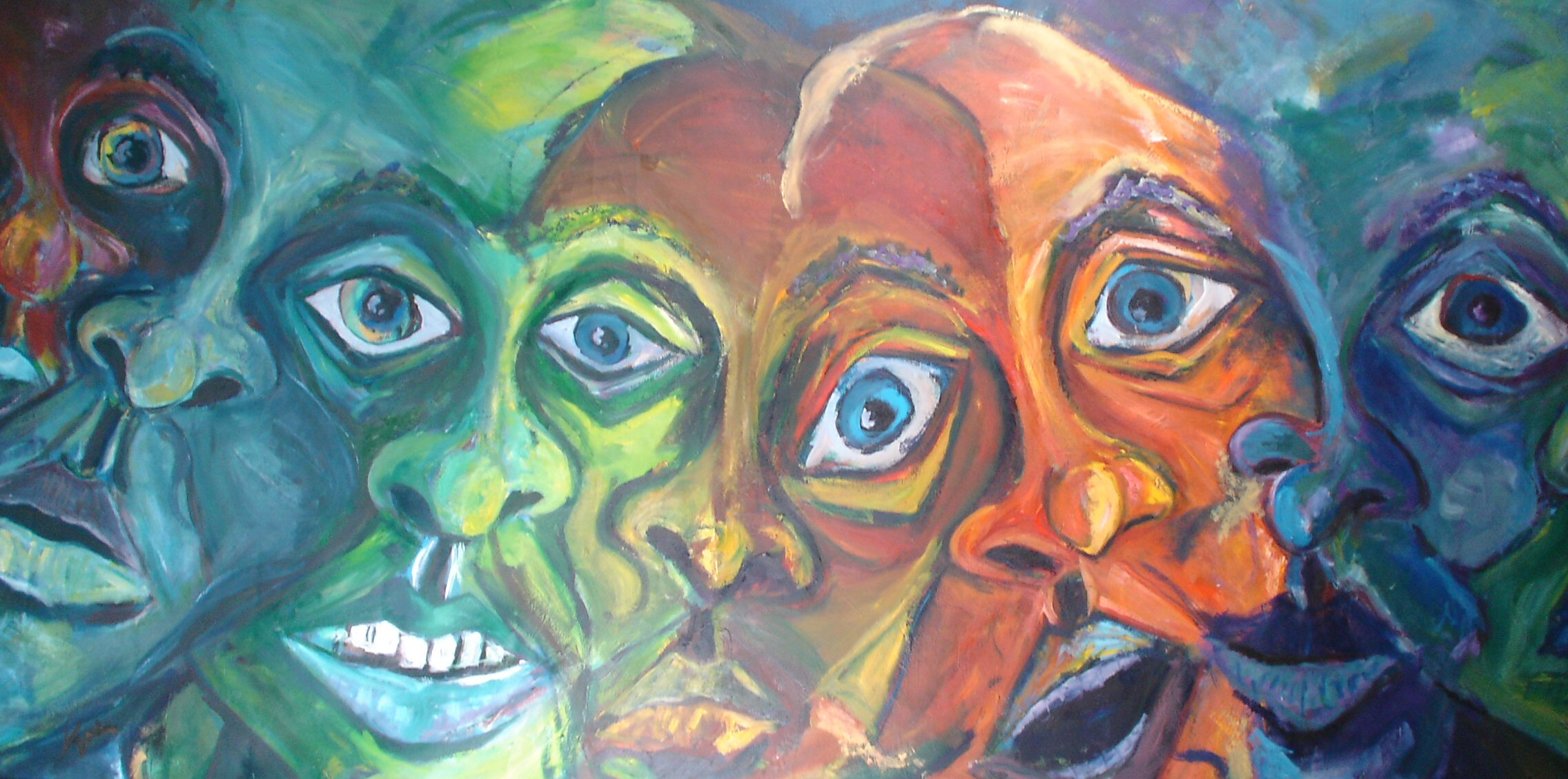 Multiple Personality Paintings