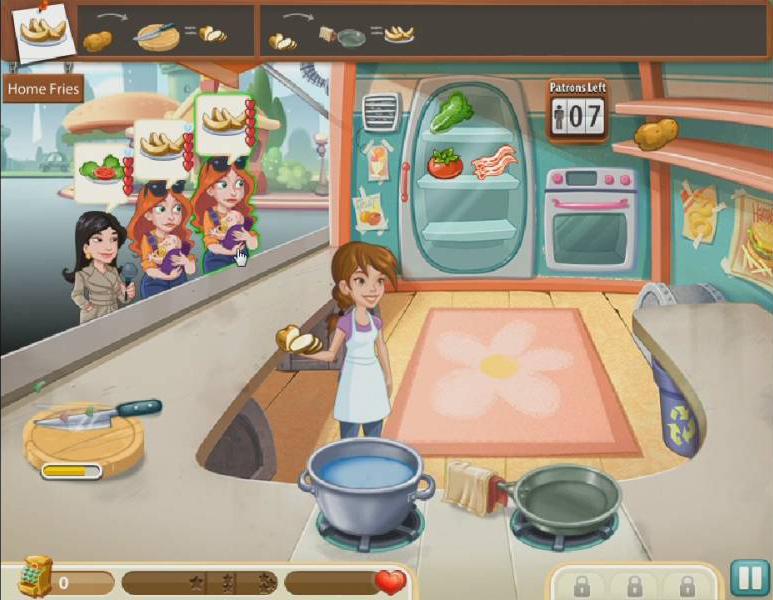 Kitchen Scramble Game