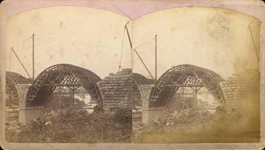 Stone Arch Bridge Minneapolis Mnopedia