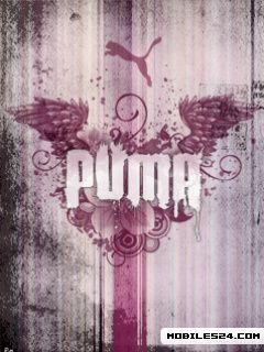 Puma Logo Pink Free Nokia 6650 Wallpaper download ...