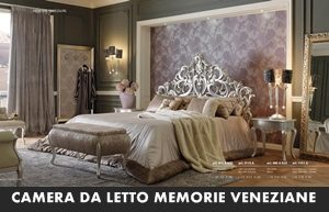 CAMERE DA LETTO GIORGIO CASA MEMORIE VENEZIANE – Arredamento a ...