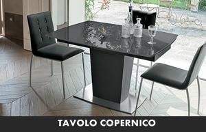 LIVING MODERNO TARGET POINT TAVOLI DA CUCINA TAVOLO COPERNICO ...