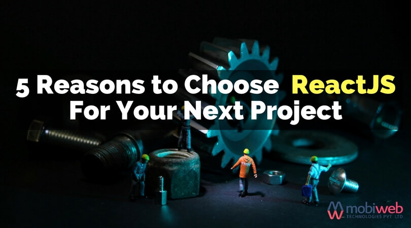 Why React js? Top 5 Reasons to Choose ReactJs For Your Projects