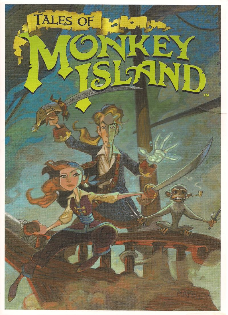 Tales Of Monkey Island For Windows 2009 Mobygames