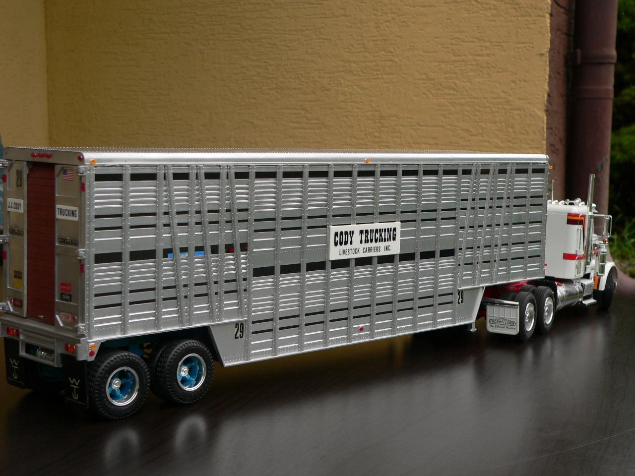 Cow Trailer Livestock Semi