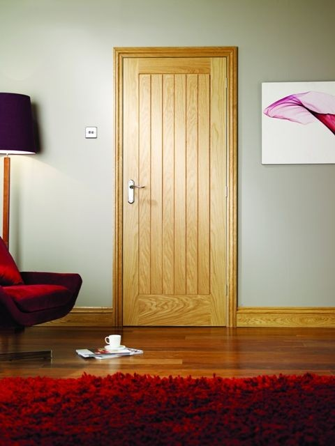 Suffolk Oak Internal Door Modern Doors