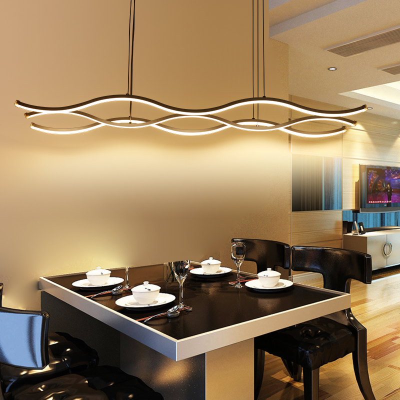 Quot Hydra Quot Three Wave Pendant Light Modern Place