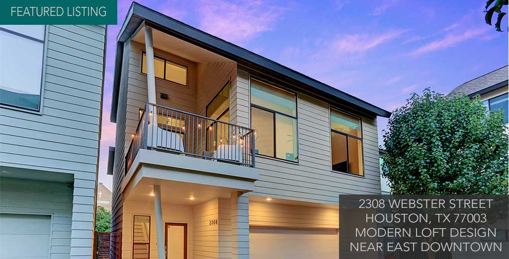 Houston Townhomes   Modern Homes for Sale   Inner Loop   Houston     The Best Source For Modern Homes  Condos   Lofts Within The Houston Area