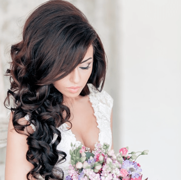 28 Prettiest Wedding Hairstyles   MODwedding wedding hairstyle 1 10032014nzy