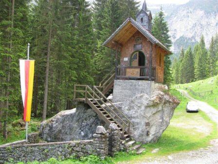 Hubertuskapelle Im Wolayertal
