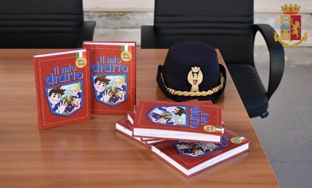 """Isernia, la Polizia di Stato entra nelle scuole con """"Il mio diario 2021-2022"""""""