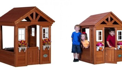 Timberlake Cedar Wooden Playhouse Wooden Thing