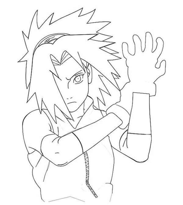 naruto shippuden coloring pages # 12