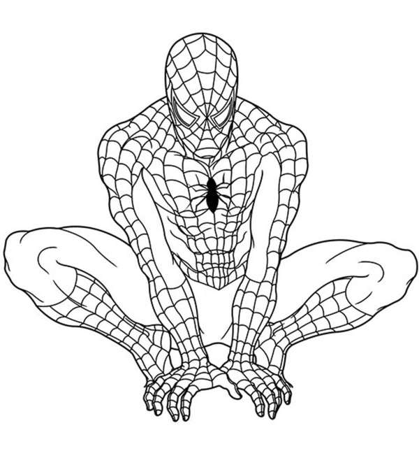 coloring pages of superheroes # 0