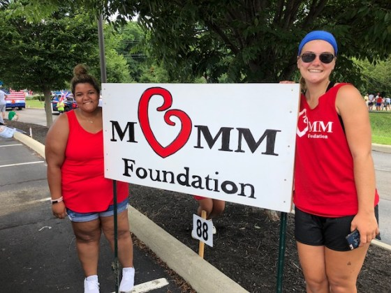 Miracle of Mom s Memory The MoMM foundation walked in the westerville 4th of July parade as we  honored our heroes that help others    Each person that gives their time
