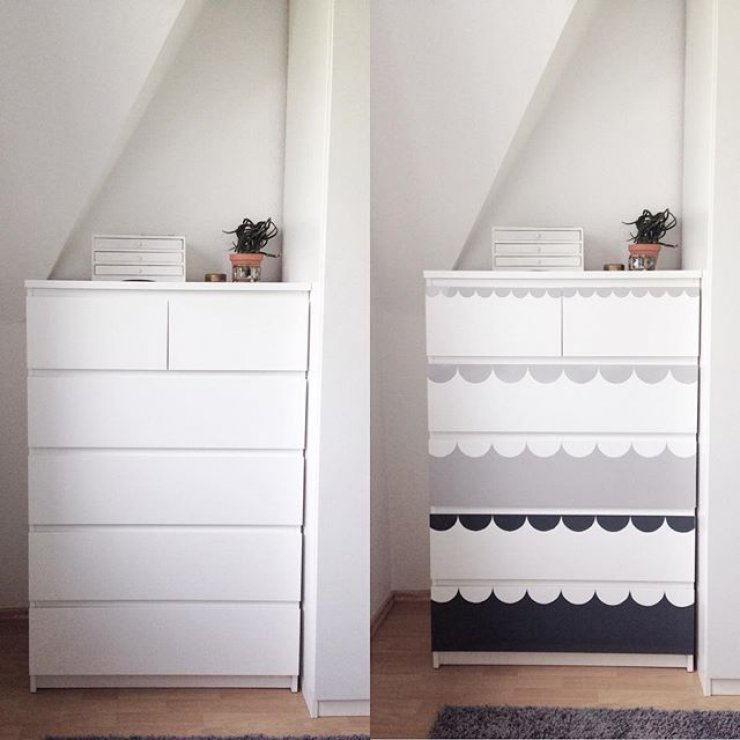 Painting Ikea Mommo Design