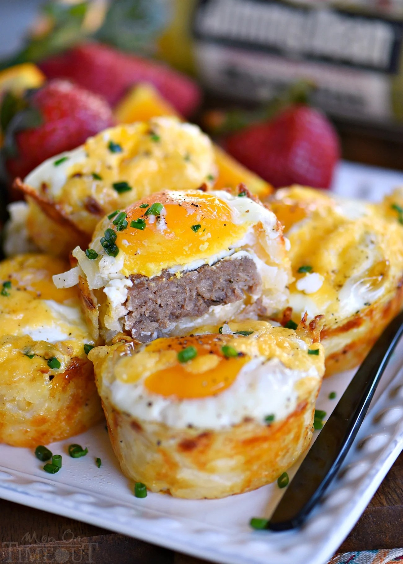 Sausage And Egg Hash Brown Cups Mom On Timeout