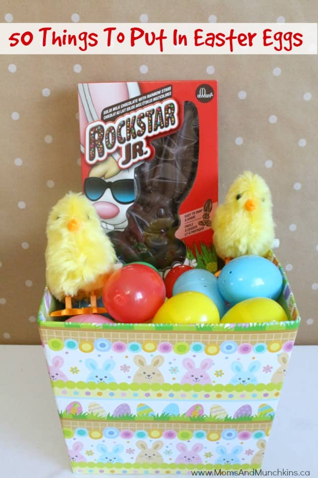 Cupcakes Easter Basket