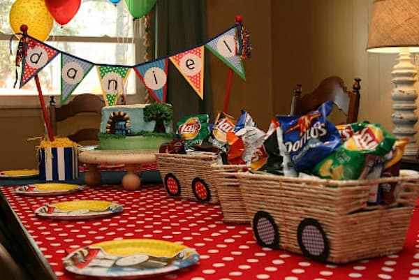 Train Party Ideas Collection Moms Amp Munchkins
