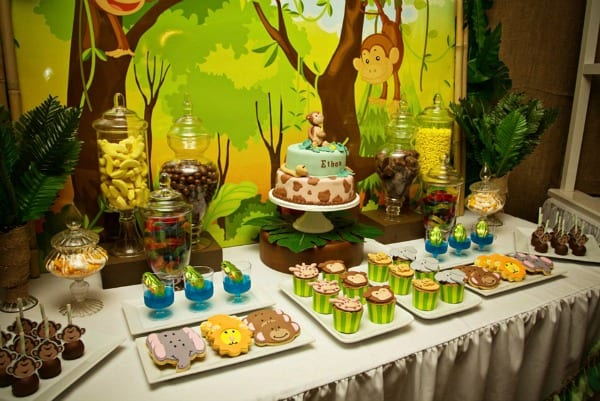 Buffet Table Setup Ideas Party