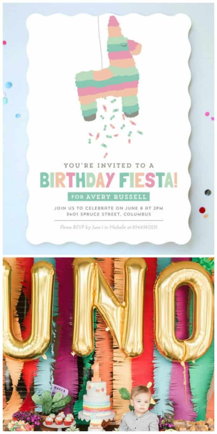 Simple Birthday Invitation