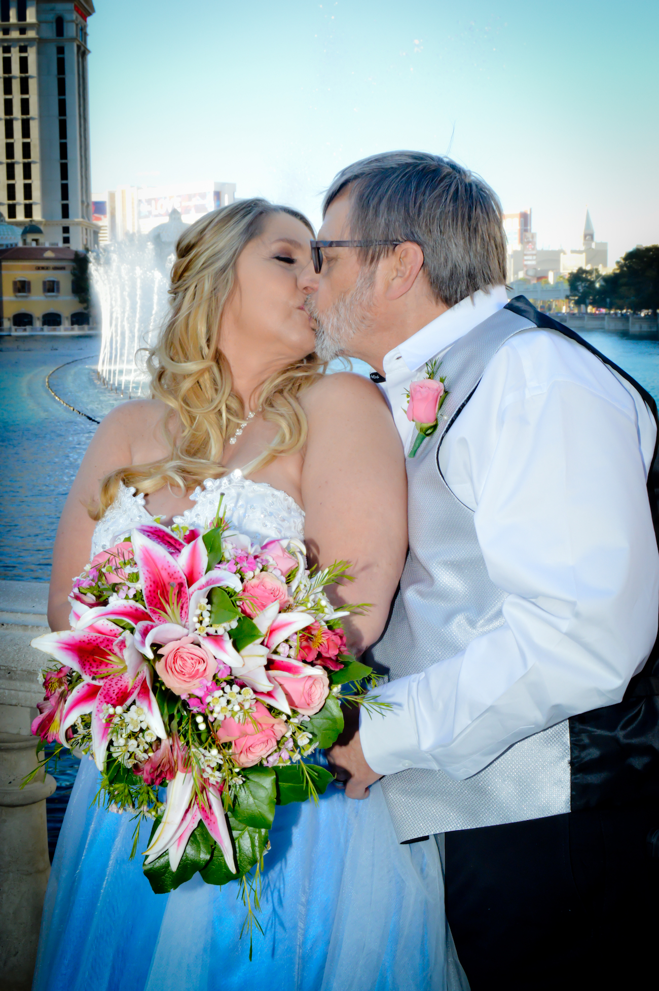 Las Vegas Strip Wedding Photography Mon Bel Ami