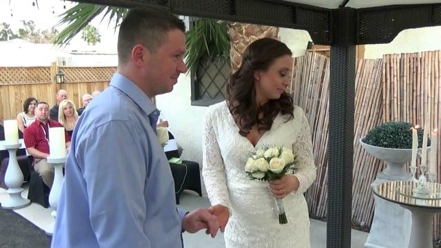 Las Vegas Wedding Chapel Packages Outdoors