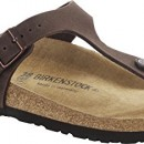 Birkenstock Gizeh Vegan, tongs adulte mixte – Marron – Braun (Cocoa Brown), 42