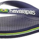 Havaianas Brazil Logo Tongs mixte adulte – Bleu (Navy Blue 0555)- 41/42 EU (39/40 BR)