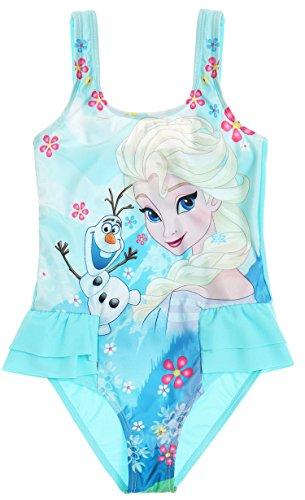 ... enfant fille La reine des neiges Elsa et Olaf Bleu 4 à 10ans (8 ans).  New ce4bf6e1cbd2