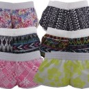 New Ladies Blue Kiss Short de plage Assortiment de Styles – – 38