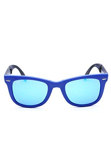a2b01039191776 save offRay-Ban 4105-602017 – Lunettes de soleil – Mixte – Bleu (Blau) –  FR  50 (Taille fabricant  50 mm)