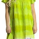 one-size-fits-plus robe / dissimulation – viscose conception verte tie dye multiples imprimés