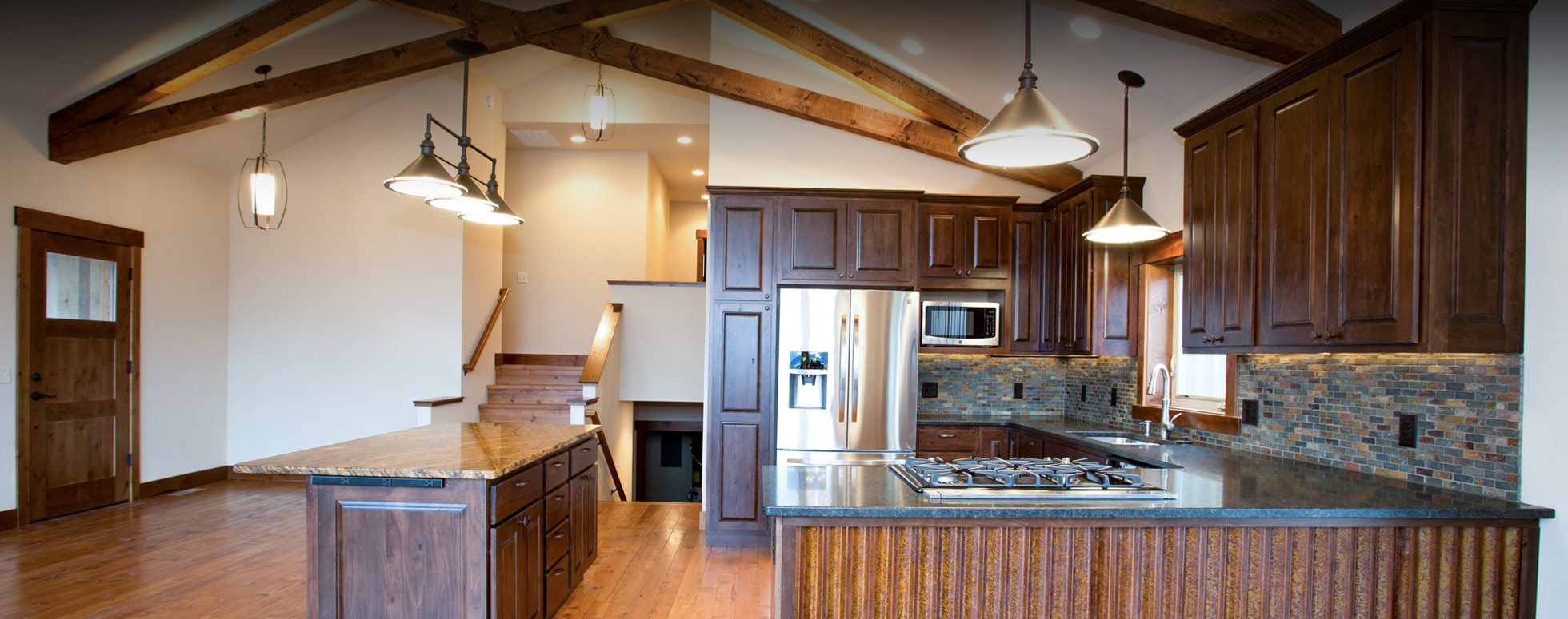 Rustic Wood Kitchen Countertops