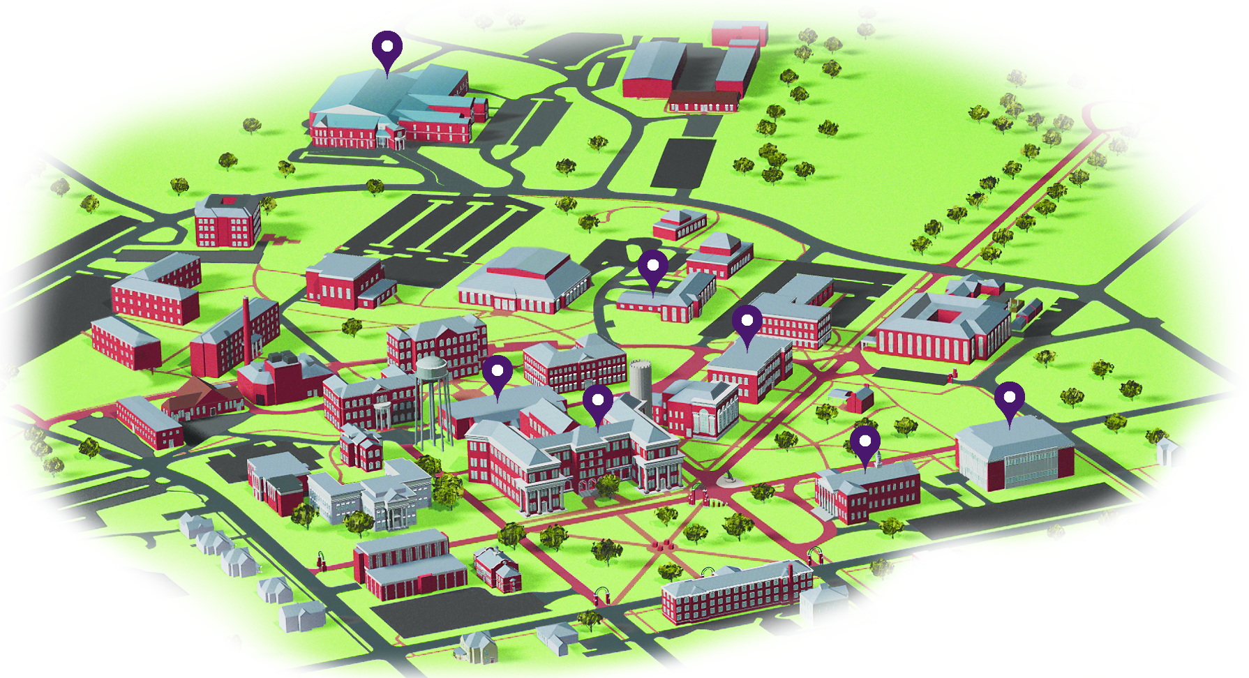 Whitworth University Campus Map.Whitworth University Campus Map