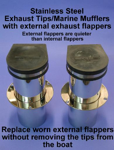 Exhaust Flappers Inch 2